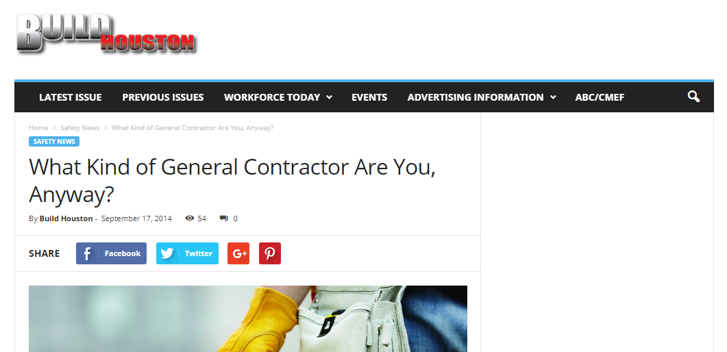 What Kind of General Contractor Are You, Anyway?
